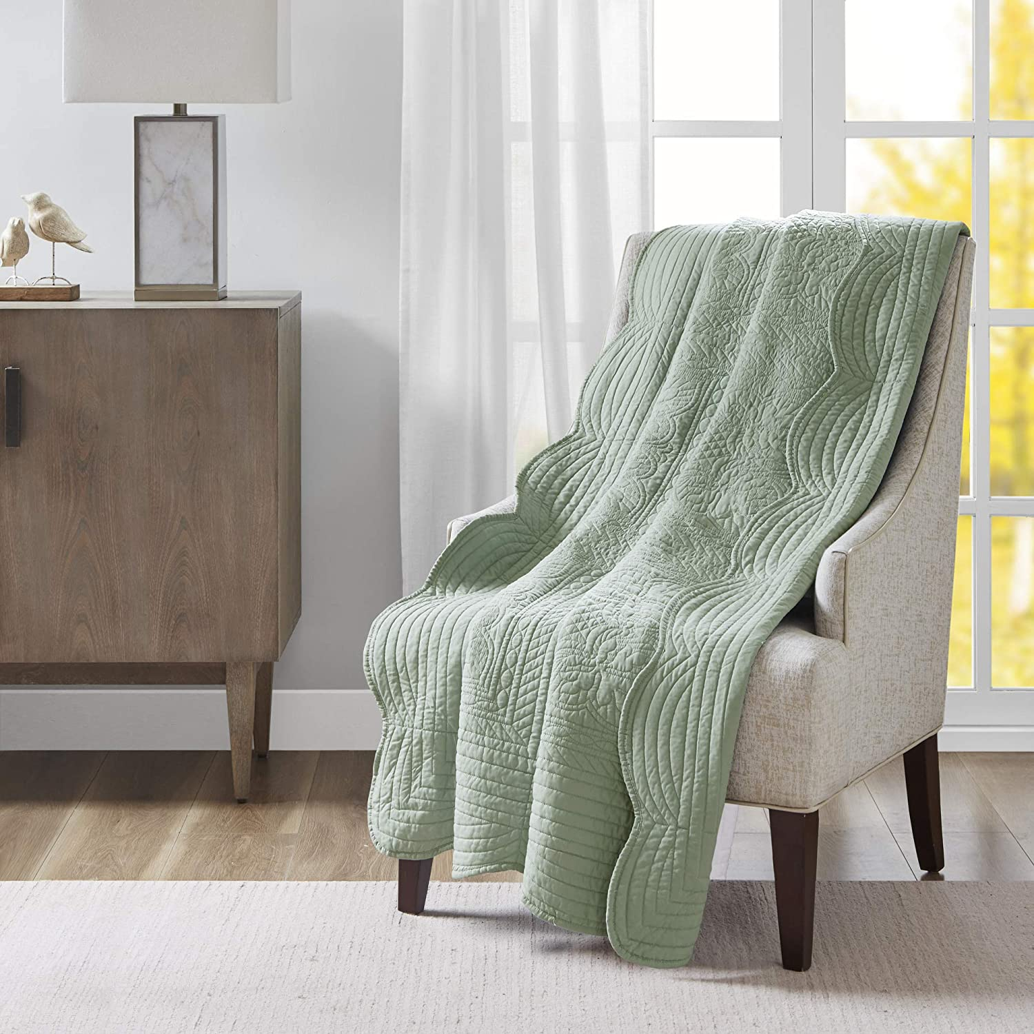 Luxury Oversized Quilted Throw
