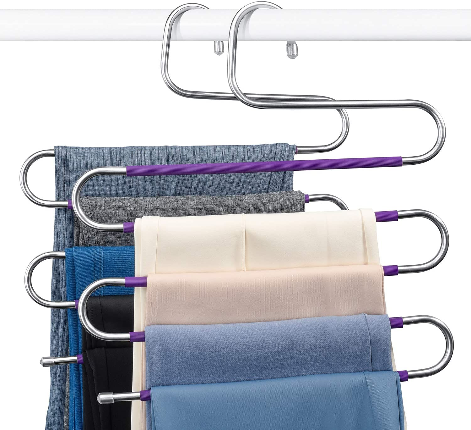 Space Saving Trousers Hangers