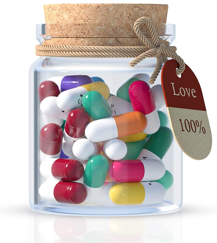 Lovers Gift Capsule Letters