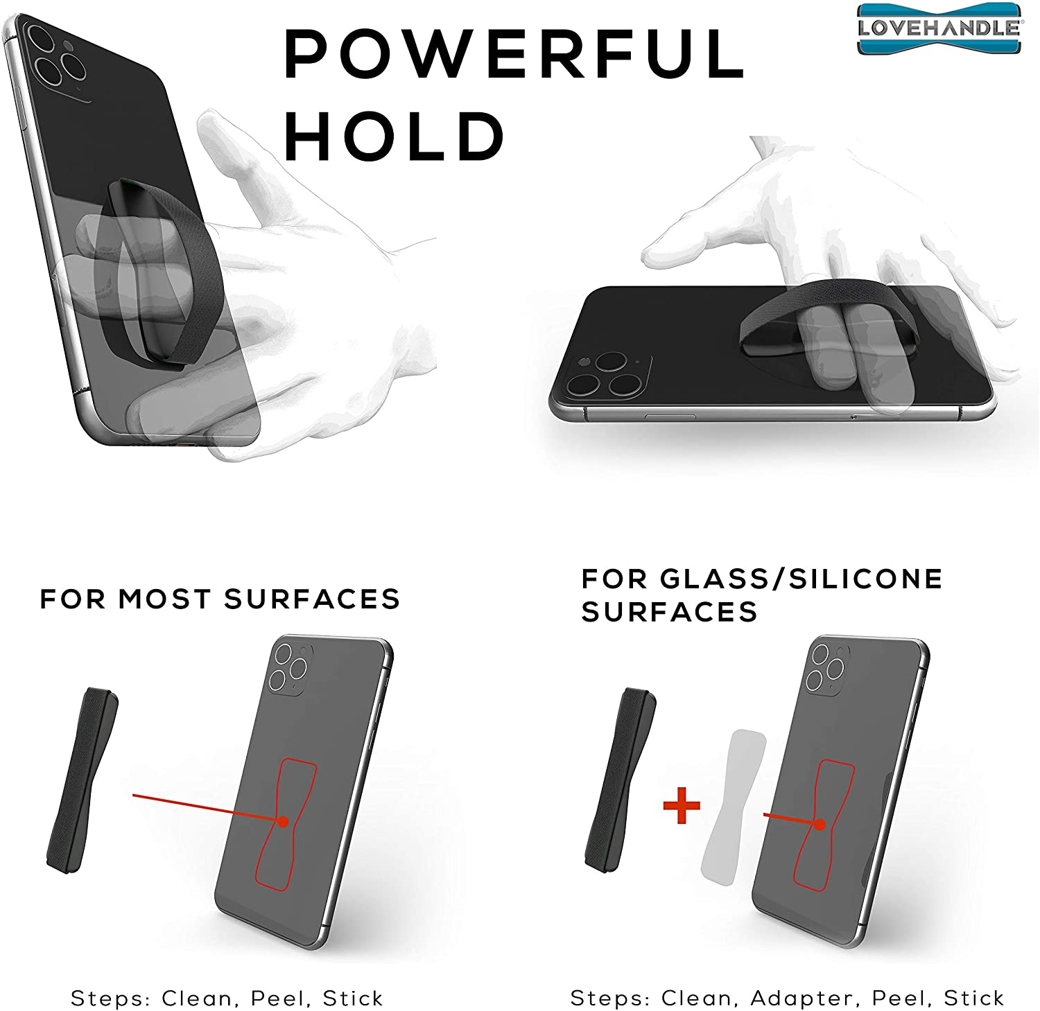 Universal Grip For Smartphone