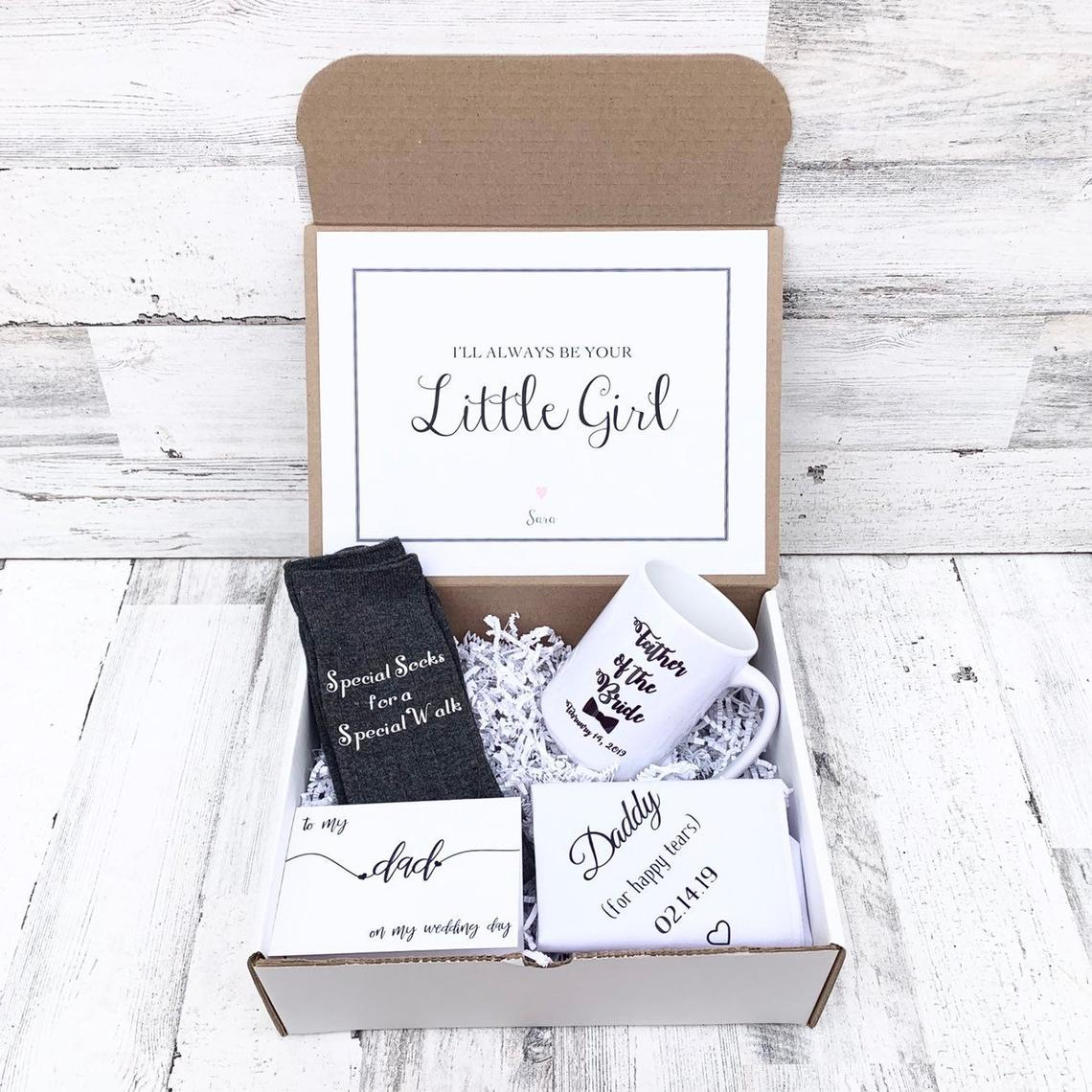 Father of the Bride Gifts Hankercheif