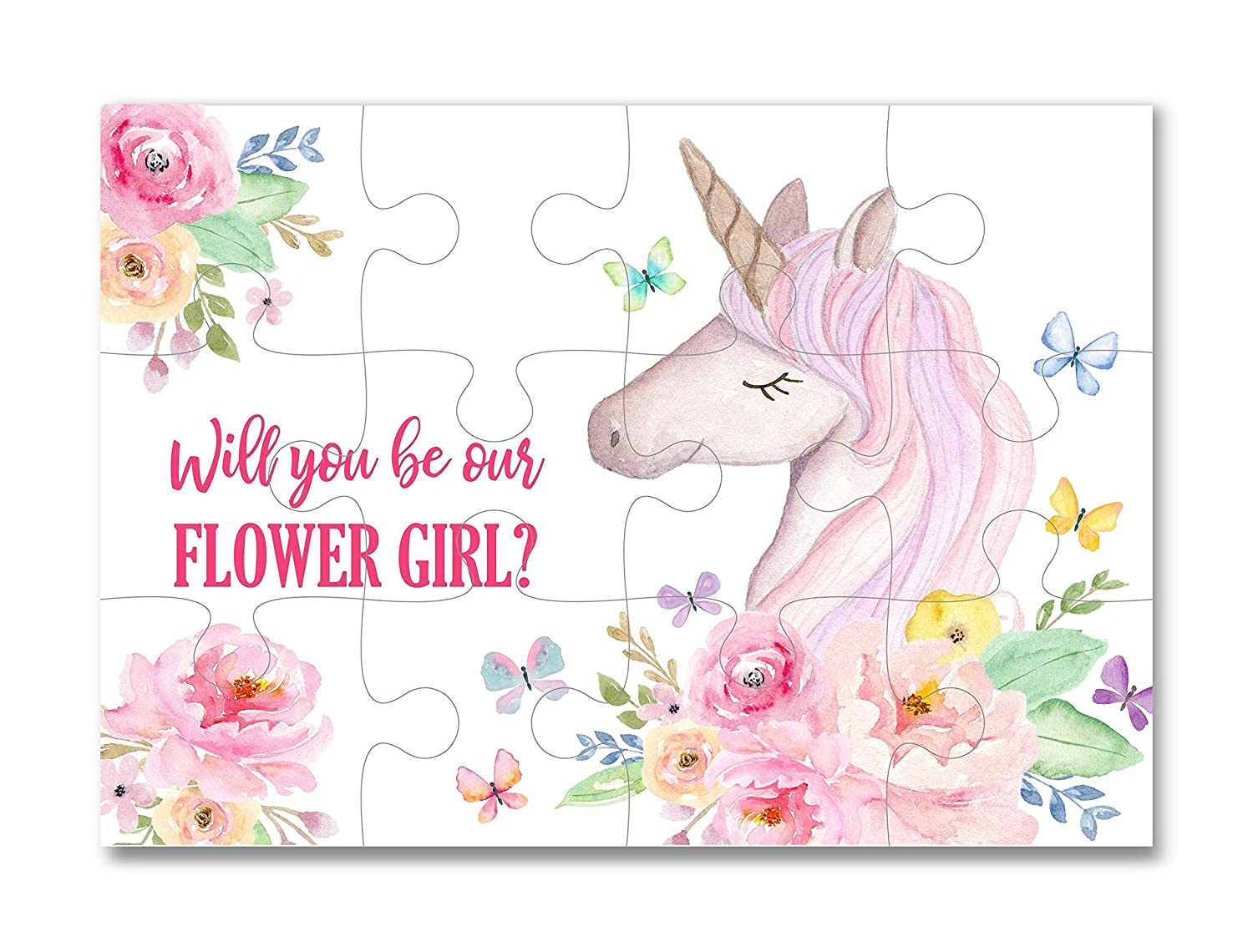 Proposal Puzzle Girl Gifts